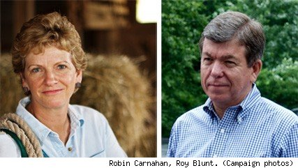 Robin Carnahan Roy Blunt
