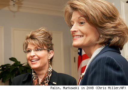 Sarah Palin and Sen. Lisa Murkowski