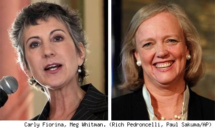 Carly Fiorina, Meg Whitman