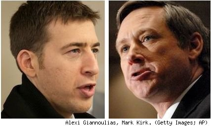 Alexi Giannoulias, Mark Kirk