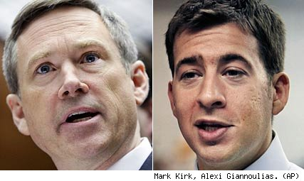 Mark Kirk, Alexi Giannoulias