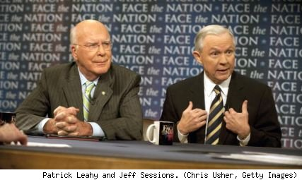 Patrick Leahy, Jeff Sessions