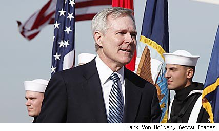 Navy Secretary Ray Mabus