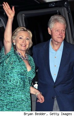 Bill Clinton and Hillary Clinton, rehearsal dinner