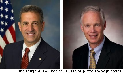 Russ Feingold, Ron Johnson