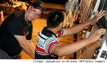 Illegal immigration in Arizona