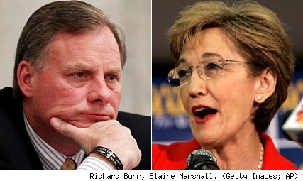 Richard Burr, Elaine Marshall
