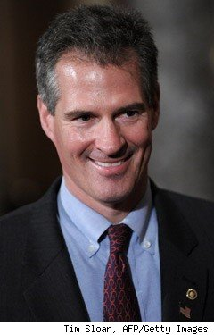 Sen. Scott Brown, (D-Mass.)