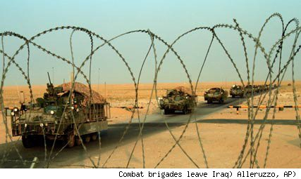 U.S. combat brigades roll out of Iraq