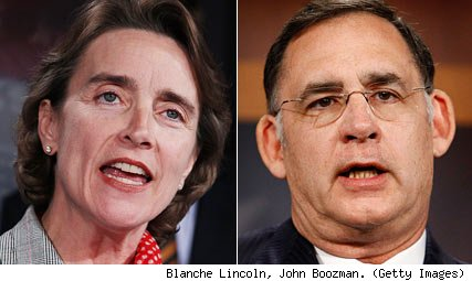 Blanche Lincoln, John Boozman