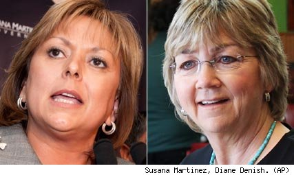 Susana Martinez, Diane Denish