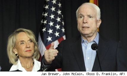 Jan Brewer, John McCain