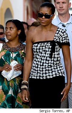 Michelle Obama, Spain Vacation