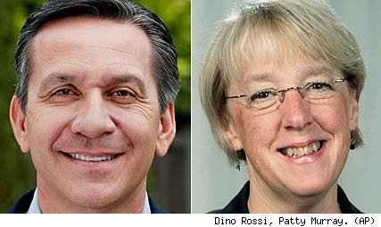 Dino Rossi, Patty Murray