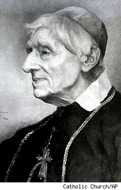 The late Cardinal John Henry Newman