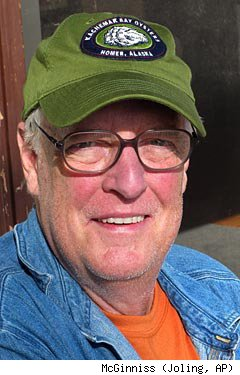 Author Joe McGinniss
