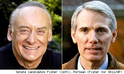 Lee Fisher, Rob Portman