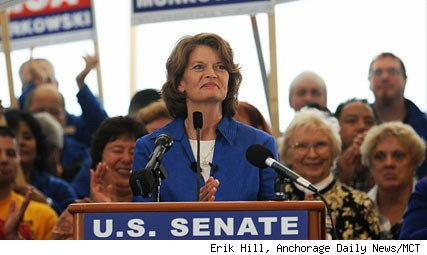 Sen. Lisa Murkowski (R-Alaska) running as a write-in candidate