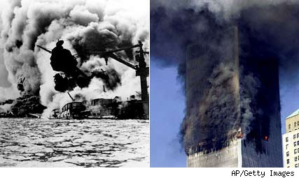 9/11 anniversary, Pearl Harbor