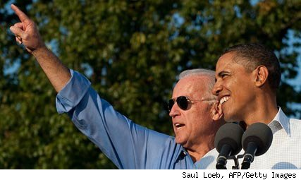 Vice President Biden and President Obama