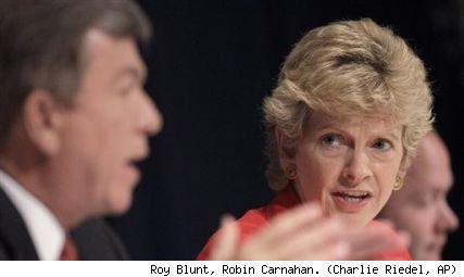 Roy Blunt and Robin Carnahan