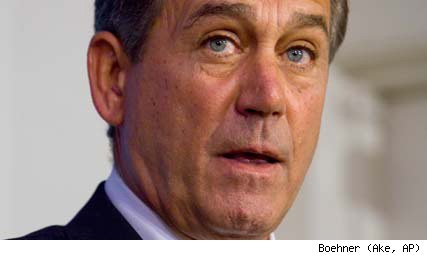 House Minority Leader John Boehner (R-Ohio)