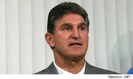 West Virginia Gov. Joe Manchin