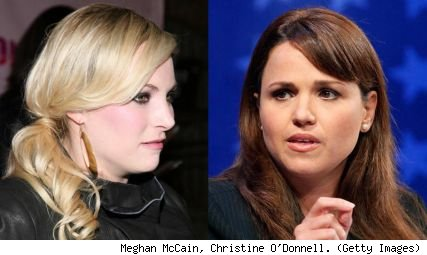 Meghan McCain and Chrstine O'Donnell