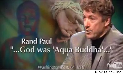 Rand Paul and Aqua Buddha