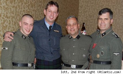 Ohio Republican House candidate Rich Iott, 2nd fromr right in SS uniform