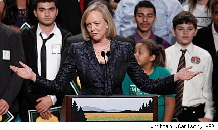 Republican Meg Whitman after loss in California governor's race