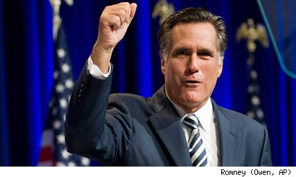 Mitt Romney, former Republican governor of Massachusetts
