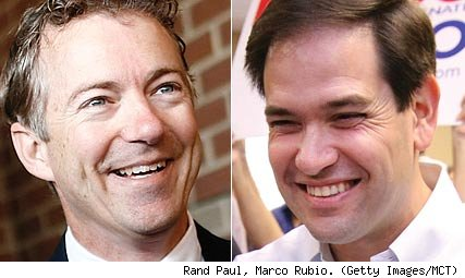 Rand Paul and Marco Rubio