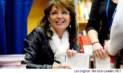 Sarah Palin at Kentucky book-signing event