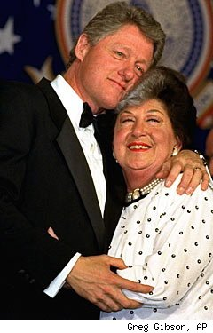President Clinton and his mother, Virginia Kelley