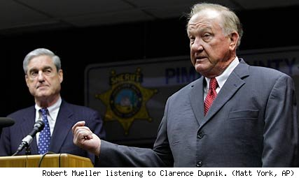 Robert Mueller and Clarence Dupnik