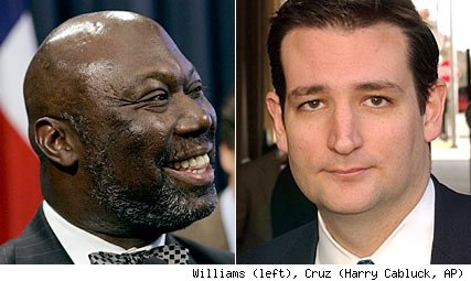 Michael Williams, Ted Cruz