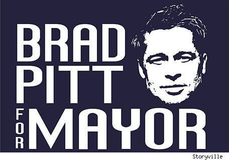 Brad Pitt for Mayor