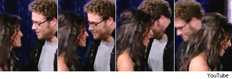 Seth Rogen and Megan Fox