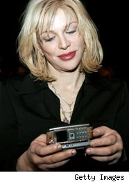 Courtney Love Tweeting