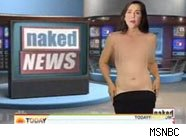 Not quite Naked news male anchor our couples