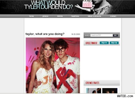 Taylor Swift Scandal on Taylor Swift Caught In Swastika Scandal   Popeater Com