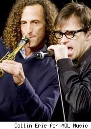 Kenny G and Rivers Cuomo