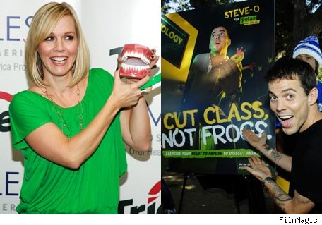 Jennie Garth and Steve-O, Celebrity Causes