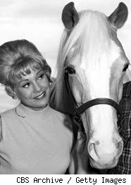 Connie Hines and Mr. Ed