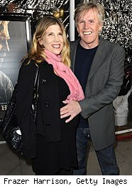Gary Busey and Steffanie Sampson