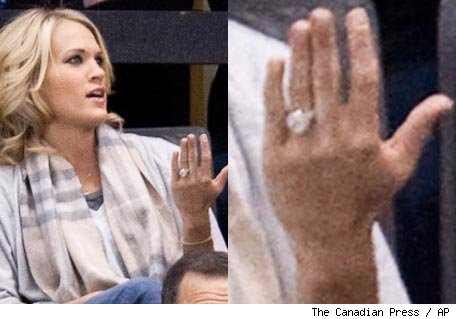 The love story between country queen Carrie Underwood and hockey star Mike