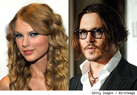 Taylor Swift and Johnny Depp