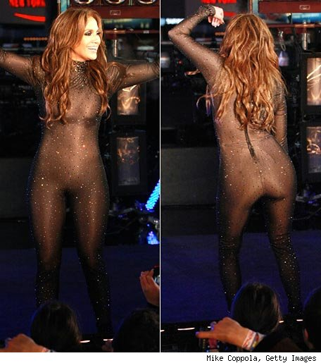 JLo's in a Catsuit