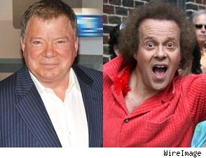 William Shatner and Richard Simmons